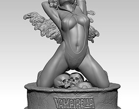 Vampirella - Princess of 3D print model