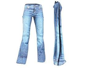 3D model Blue Jeans