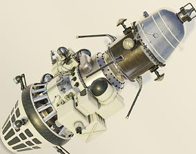Luna 10 3D model