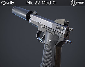 Mk 22 Mod 0 3D model game-ready