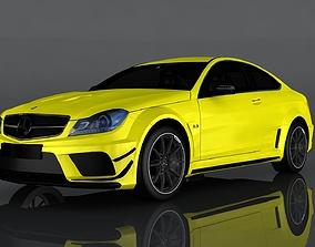 Mercedes-Benz C63 3D asset