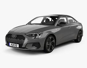 3D model Audi A3 S-line sedan 2020
