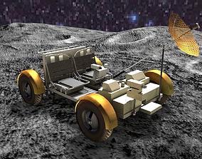 Moonrover 3D asset