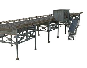 3D model Railway Bridge