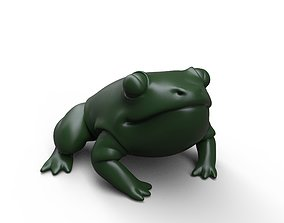 3D printable model Confident fatty froggy