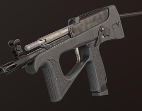 3D asset realtime PP-2000 submachine gun