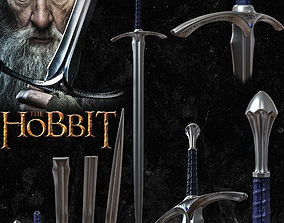 GANDALF GLAMDRING SWORD - THE HOBBIT 3D print model