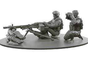 3D printable model Machine Gun Kord