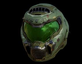 3D Model of Doom Eternal Helmet