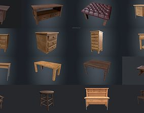 3D model PBR Furniture Pack furnishing