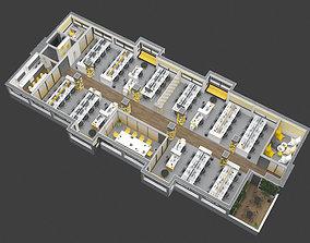 OFFICE 3D FLOORPLAN