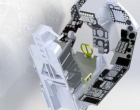F16 COMPLETE COCKPIT STL FILES ONLY 3D printable model
