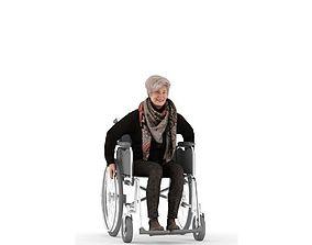 Roberta posed 3 3D model