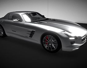 Mercedes-Benz SLS AMG 3D asset