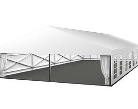 3D model Marquee wedding tent