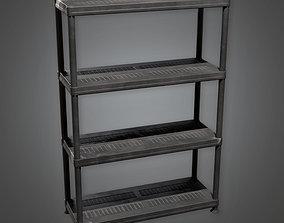 Shelf Unit TLS - PBR Game Ready 3D model