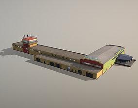 Airport Terminal USMM Terminal Nadym 3D model