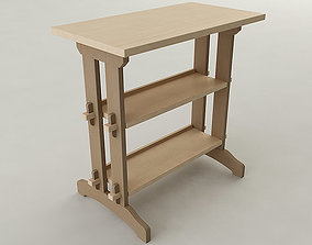 3D model Woodworking Shop Table