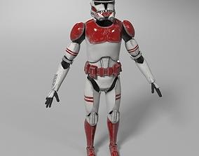 3D Star Wars Clone Trooper