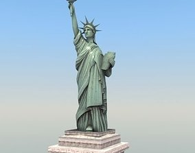 3D Statue of Liberty USA
