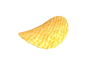 Potato Chips v1 001 3D asset