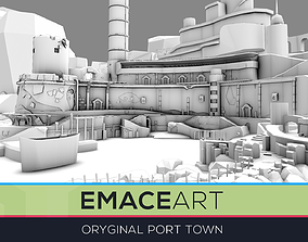 3D model Mega World Port