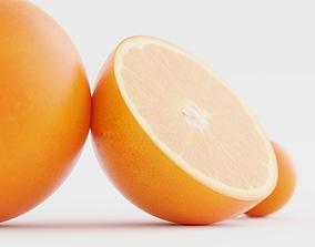 3D Food Photography Oranges