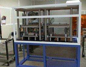 Machine Construction Leak Test 3D