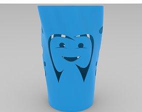 3D print model toothbrush cup printable