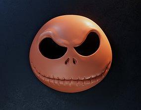 Jack Skellington Mask - Halloween Mask 3D print model
