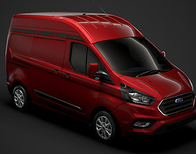 Ford Transit Custom L1H2 2020 3D model