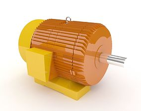 Electric motor 3D steel