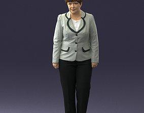 Lady pant suit 0499 3D model