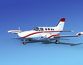 3D Cessna 421 Golden Eagle V12