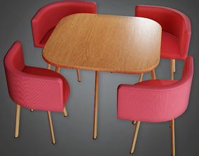 Modern Table 08 - AV2 3D asset