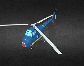 HRS-1 3D model