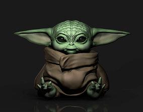 Baby Yoda 3D Print starwars