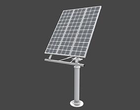 solar collector 10 3D model