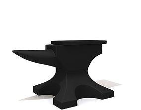 Anvil iron 3D model