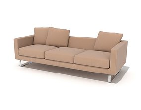 3D model Luxury Sofa Set