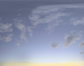 3D Skydome HDRI - Blue Moment II