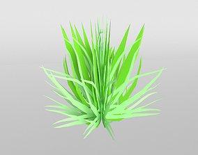 3D asset VR / AR ready Grass 004