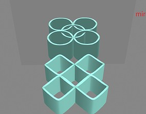 Ambiguous Cylinder Illusion 3d-printable