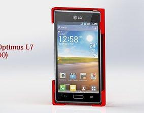 3D printable model Cell phone case LG Optimus L7 p700