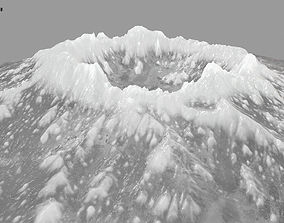 ice volcano 4 3D model