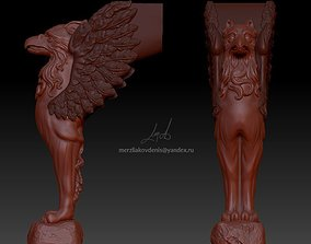 griffin 3D print model