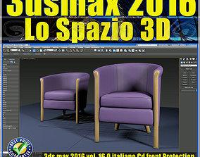 tutorial 016 3ds max 2016 Lo Spazio 3D vol 16 cd front