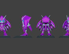 Super Mecha 3 - Zelita of Code Name Z3LA - 3D Print