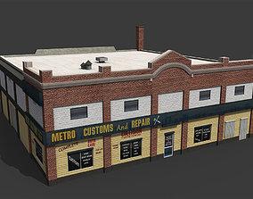 workshop Car Repair Workshop 3D asset
