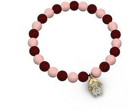 3D printable model jewellery bracelet bead